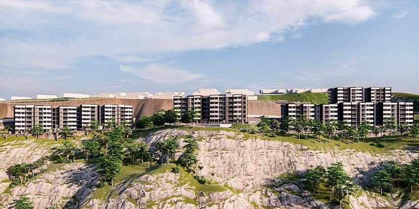 Proyecto Terrazas de Uno Norte - Etapa 1 de Inmobiliaria MDA-2