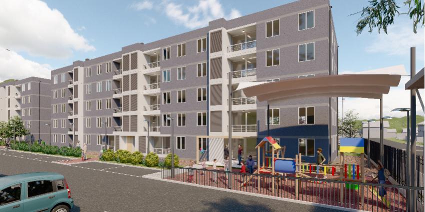 Proyecto Condominio Nueva Carrera de Inmobiliaria Albores Inmobiliaria-2