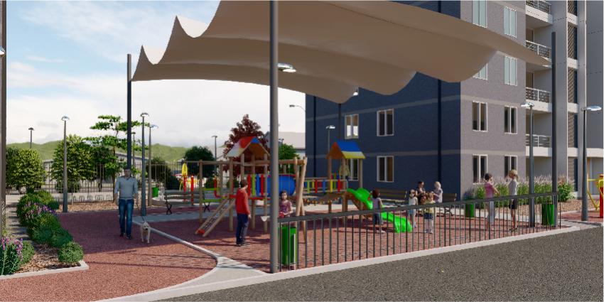 Proyecto Condominio Nueva Carrera de Inmobiliaria Albores Inmobiliaria-3