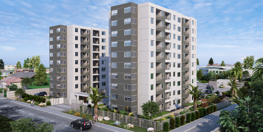 Proyecto Barrio Norte de Inmobiliaria Alborada