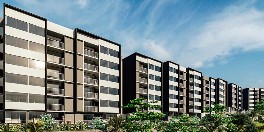 Proyecto Terrazas de Uno Norte - Etapa 1 de Inmobiliaria MDA-1