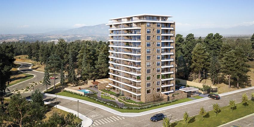 Proyecto Jardines de Montemar de Inmobiliaria Alborada