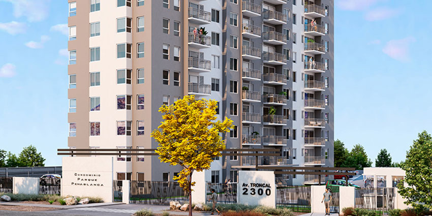 Proyecto Condominio Parque Peñablanca de Inmobiliaria Alborada