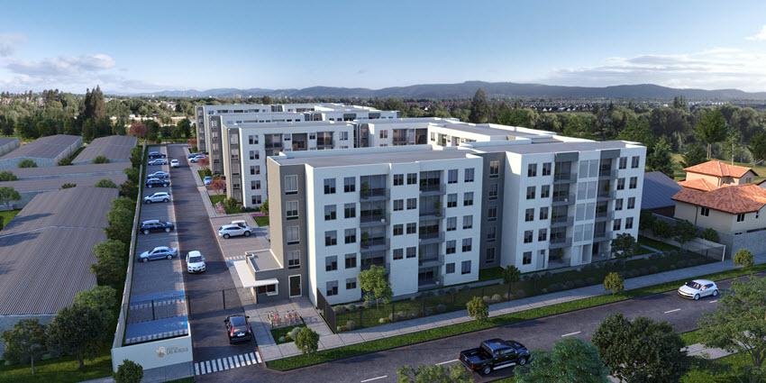 Proyecto Condominio Portal Las Acacias de Inmobiliaria Noval