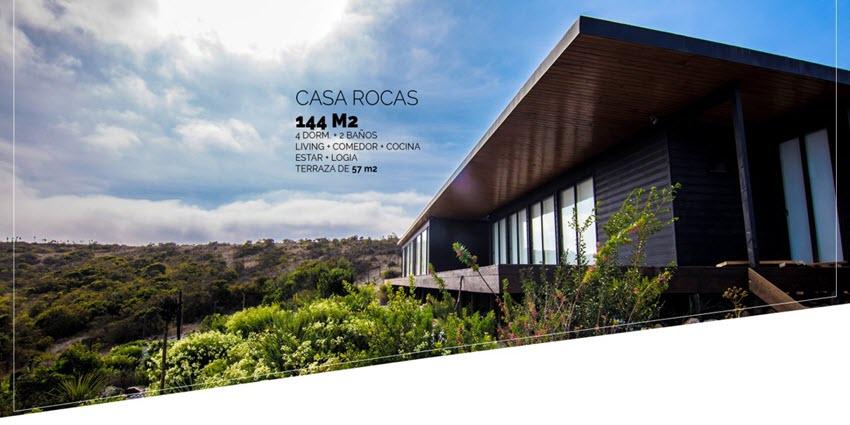 Proyecto Rocas del Mar - Casas de Inmobiliaria Foresta del Mar-1