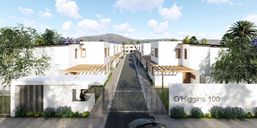 Proyecto Condominio O´Higgins 100 de Inmobiliaria O´Higgins 100 Spa-1