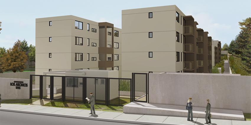 Proyecto Condominio Vista Los Aromos - Edificios Avellano y Roble de Inmobiliaria MD2