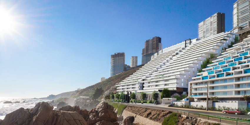 Proyecto Playa Cochoa de Inmobiliaria Numancia