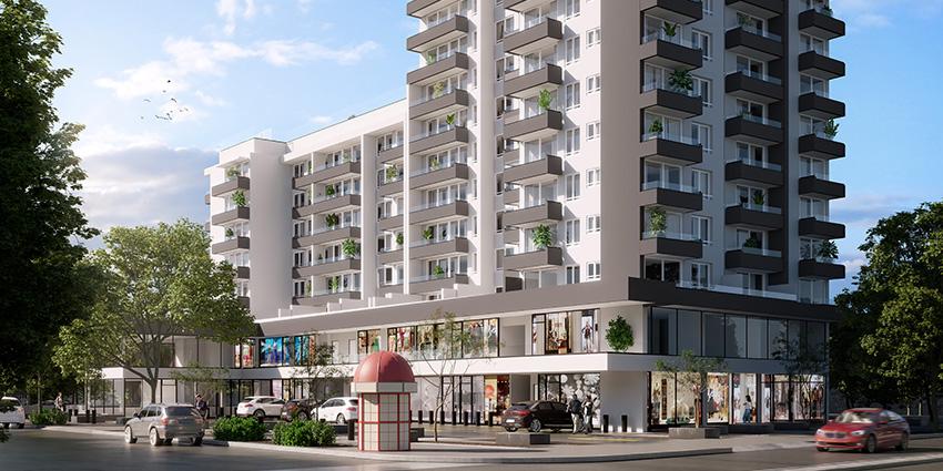 Proyecto 2 Norte 1213 - Blanco de Inmobiliaria Numancia