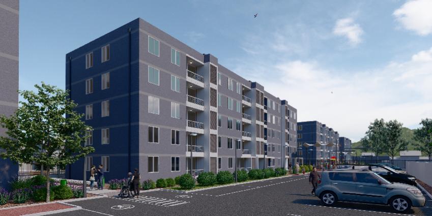 Proyecto Condominio Nueva Carrera de Inmobiliaria Albores Inmobiliaria-1