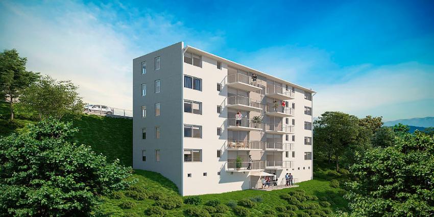 Proyecto Edificio Maitén - Etapa I de Inmobiliaria Parada-1