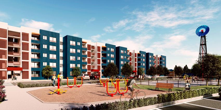 Proyecto Condominio El molino de Inmobiliaria Inmobiliaria Naos-1