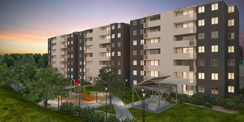 Proyecto Condominio Piedra de Montaña de Inmobiliaria Pacal