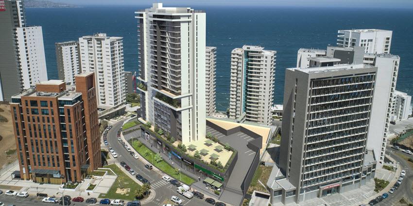 Proyecto Edificio Live de Inmobiliaria Copahue